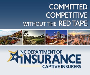 NC Department of Insurance Captive Domicile square Advertisement